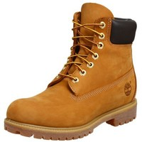 "Timberland Men's 10061 6"" Premium Boot,Wheat,7.5 M"