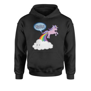 Toot Unicorn Farting Youth-Sized Hoodie