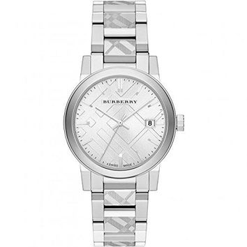 Burberry Unisex Swiss Stainless Steel Bracelet Watch 38mm BU9037