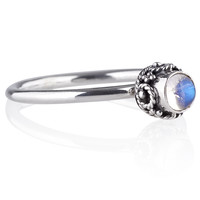 Bandit Rainbow Moonstone Ring – Shop Dixi