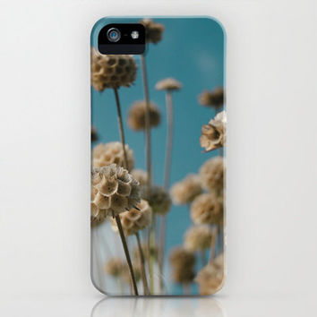 Photographic Art Print iPhone 6, 5, 4 and 3 Cases, Samsung Galaxy Cases,  Both Slim & Tough Cases, Field of Flowers Art Print Phone Cover.