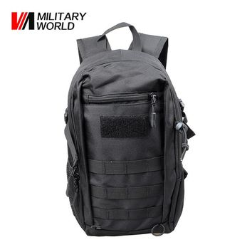 900D Nylon 12L Tactical MOLLE Backpack