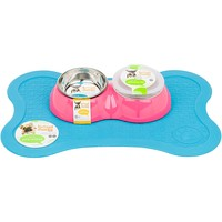 Bowlmates by Petco X-Small Double Round Base