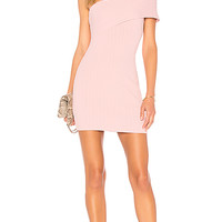 by the way. Diana One Shoulder Mini in Blush | REVOLVE