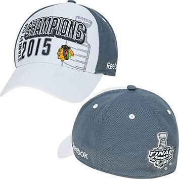 Chicago Blackhawks Reebok 2015 Stanley Cup Champions Structured Youth Hat