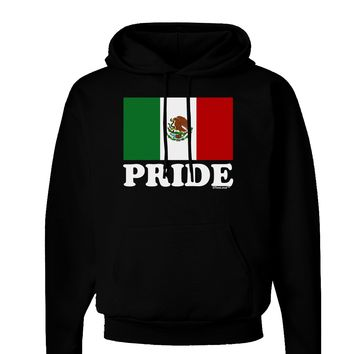 Mexican Pride - Mexican Flag Dark Hoodie Sweatshirt by TooLoud