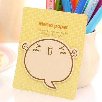 Memo Pads Sticky Notes Labels | Bookmark Stationary Paper | School Office Supplies | Sticky Note Cute Korean Post-It M56