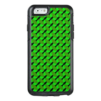 Green Leafy Design on Otterbox Case for iPhone 6/6