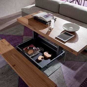 T063 Markus Transformable Coffee Table by Ozzio