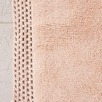 Netted Solid Bath Mat | Urban Outfitters