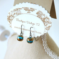 Mother's Day Gift Vintage Style Glass Drop by BoutiqueVintage72