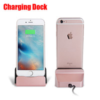Luxury Sync Data Fast Charging Dock Station USB Desktop Docking Charger USB Cable For iPhone 6s 6 6s Plus 5S 5 5C SE Dock