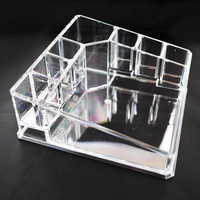 Acrylic Cosmetic Organizer Makeup Brushes Lipstick Holder 1119