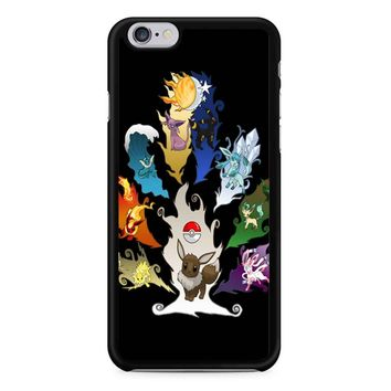 Eeveelution Tree iPhone 6/6s Case