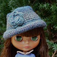 Blythe Doll Hat, Multicolor Hat, For Dolls, Doll Fashion, Hat for Dolls, Crochet Hat, Cute Doll Cloths, Accessories for Dolls, Miniature Hat