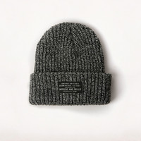 i+w marl knit watch cap