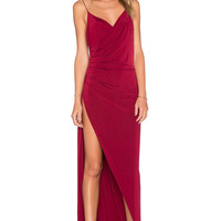 Gemeli Power The Kotahi Gown in Maroon