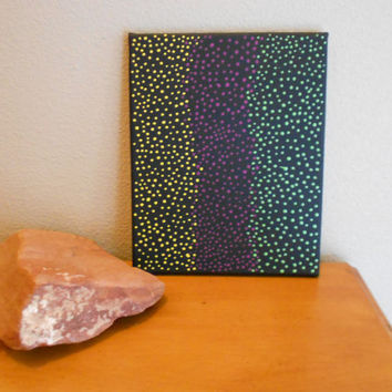 Painting Dots MultiColored Aboriginal Inspired by Acires on Etsy