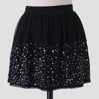 Good Luck Charm Embellished Skirt