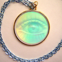 Hologram Necklace The Third Eye