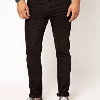 ASOS Mens Skinny Slim Fit Jeans Black RRP £28: Amazon.co.uk: Clothing