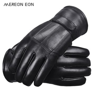 Men's Sheepskin Genuine Leather Gloves