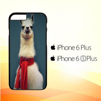 Animal Llama V0256 iPhone 6 Plus|6S Plus Case