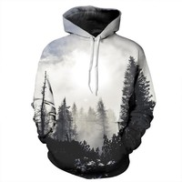 REVERIE PLANET Dark Forest UNISEX HOODIE