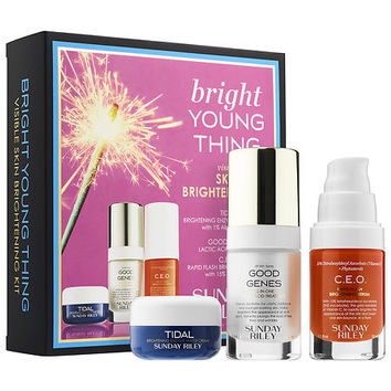 Bright Young Thing Visible Skin Brightening Kit - SUNDAY RILEY | Sephora