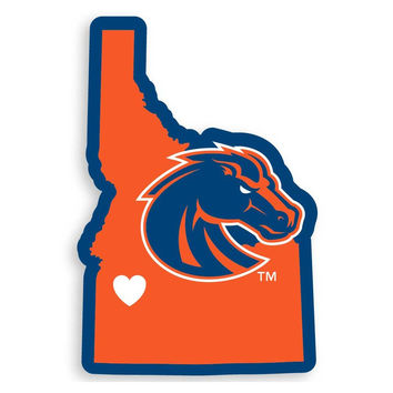 Boise St. Broncos Home State Decal CHSD73