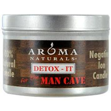 One 2.5X1.75 Inch Soy/Beeswax Blend Aromatherapy Candle For The Man Cave. Rebalance Room Odors With Natural Beeswax, Sunflower, Soy & Rice Bran Wax.  Burns Approx. 15 Hrs