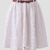 Brisia Lace Skirt