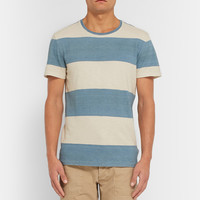 RRL - Striped Slub Cotton-Jersey T-Shirt | MR PORTER