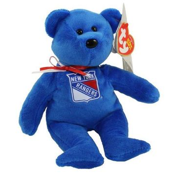 TY Beanie Baby - NFL Football Bear - NEW YORK GIANTS (8.5 inch)