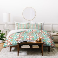 Heather Dutton Ring A Ding Duvet Cover