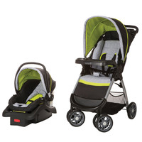 Safety 1st Amble Quad Travel System  w/ onBoard 22 Infant Car Seat TR321CYT