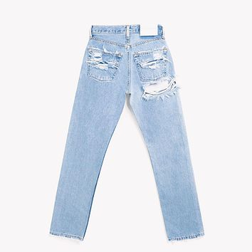 High Rise Butt Cheek Vintage Blogger Jeans