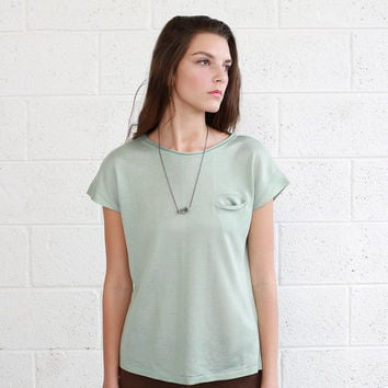 Knitted -T, Mint - 50% OFF