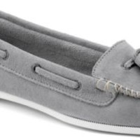 Sperry Top-Sider Sabrina Kiltie Loafer LightGraySuede, Size 6M  Women's Shoes