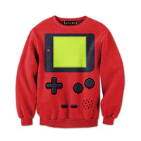 Handheld Red Sweatshirt