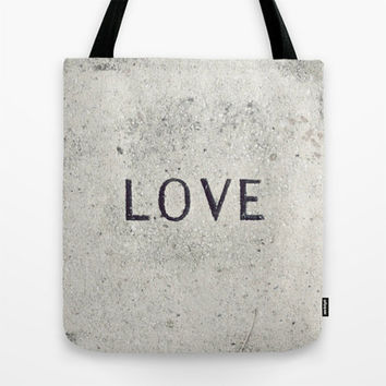 Tote Bag, Love Stone Photo, Market Tote, Grey, Black, Photo Tote Bag, Grocery Tote Bag, Book Bag, Zen, Love Tote