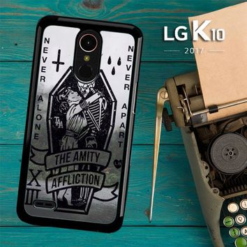 Amity Affliction Band L1344 LG K10 2017 / LG K20 Plus / LG Harmony Case