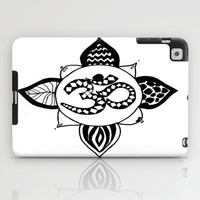 Om Pattern iPad Case by Sarah Hinds