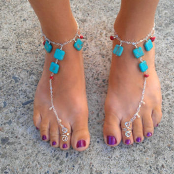 Custom Made Barefoot Sandals Just for You
