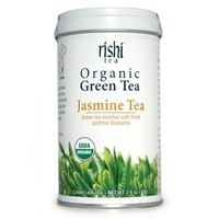 Rishi Tea Organic Green Jasmine Tea Loose Tea, 1.94 Oz Box (Pack of 3)
