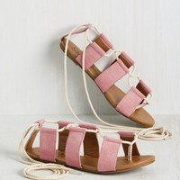 My Kind of Ghillie Sandal in Rose