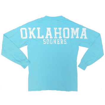 Comfort Colors Long Sleeve Jersey Tee (Blue)