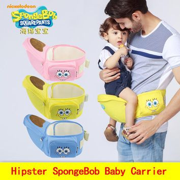 Best Selling manduca popular baby carrier SpongeBob baby Sling Toddler wrap Rider canvas backpack high grade Baby suspenders