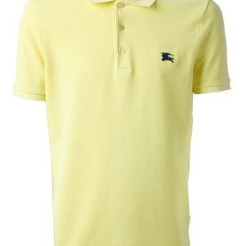 Burberry Brit Logo Embroidered Polo Shirt