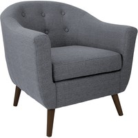 Rockwell Accent Chair, Gray